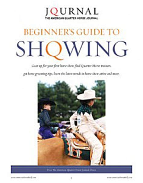 A Beginners Guide To Experts 2 by Aqha Beginners Guide To Showing Expert Advice On