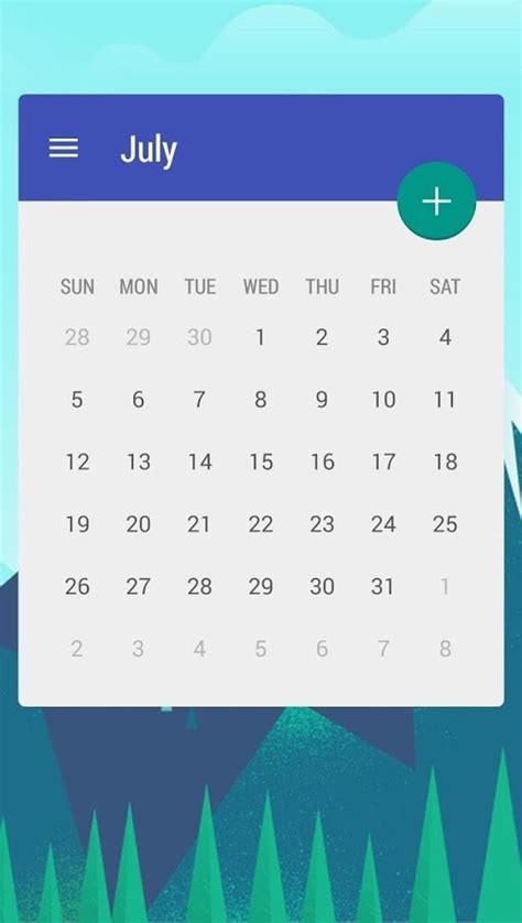 Calendar App Month View Calendar Widget Month Android Apps On Play