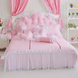 Queen Comforters Sets Pink White Sunflower Girls Frilly Queen Bedding Sets Ebay