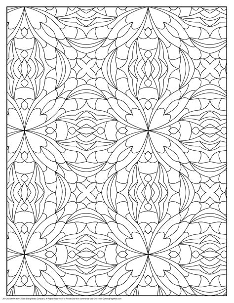 Pattern Coloring Pages Bestofcoloring Com Coloring Book Patterns