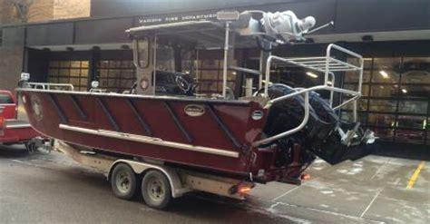 lake rescue boats new boat enhances mfd lake rescue capabilities fire