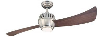 One Blade Ceiling Fan Westinghouse 7852400 Sparta One Light 52 Inch Two Blade