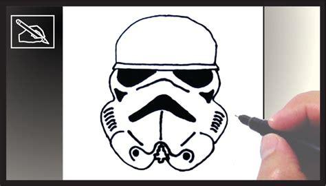 imagenes de star wars a lapiz c 243 mo dibujar un casco de stormtrooper how to draw a