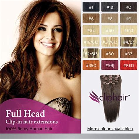 Hairclip Wavy 40 50cm clip in remy human hair extensions ebay