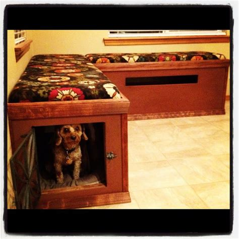 dog benches 25 best ideas about dog kennel inside on pinterest dog runs outdoor dog runs and