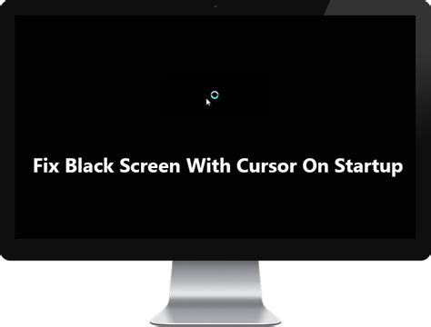 black screen after windows boot up fix fix black screen with cursor on startup troubleshooter