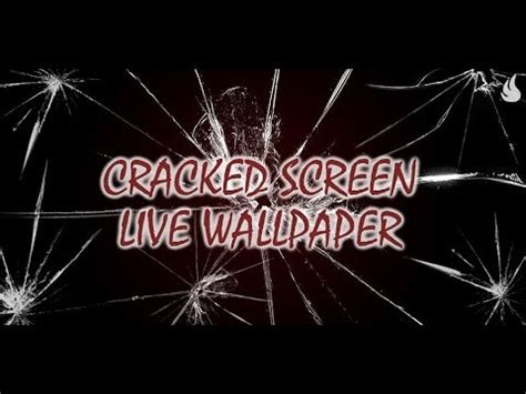 live wallpaper for pc cracked cracked screen live wallpaper apps on google play