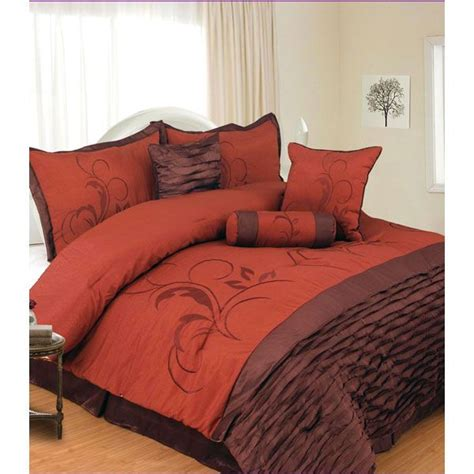 brown and orange comforter set blankets pinterest