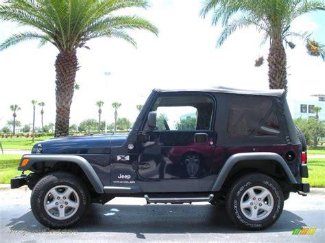 midnight blue jeep 2006 jeep wrangler x 4x4 in midnight blue pearl 719773