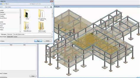 structural layout of a building the structural design process using aecosim building