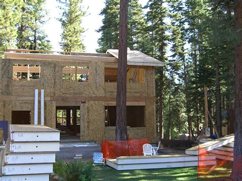 building with sips green building with structurally insulated panels sips