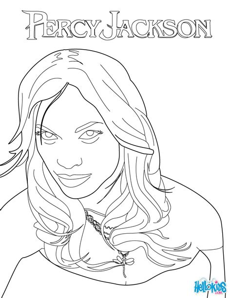 Persephone Coloring Pages Hellokids Com Percy Jackson Coloring Pages