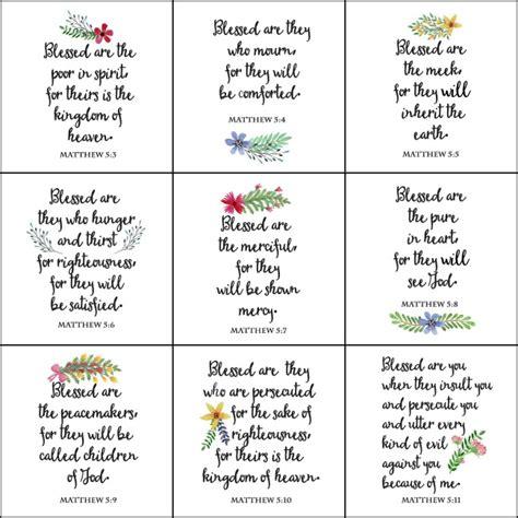 printable beatitudes bookmarks beatitudes printables pictures to pin on pinterest pinsdaddy
