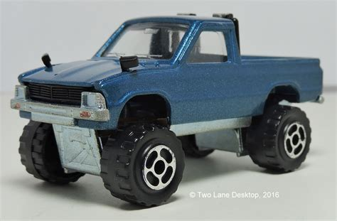 tomica toyota hilux two desktop majorette and tomica 1980 toyota hilux s
