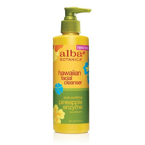 Alba Botanica Hawaiian Detox Cleanser by Alba Botanica 174 Hawaiian Pore Purifying Pineapple Enzyme