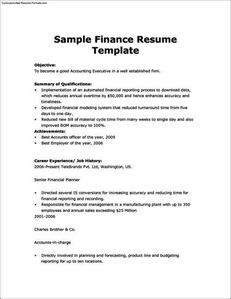 Resume Draft Template Free Sles Exles Format Resume Curruculum Vitae Free Resume Draft Template