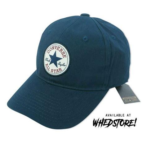 Aksesoris Topi Pria Converse 100 Original Murah jual beli topi converse original navy baru topi pria