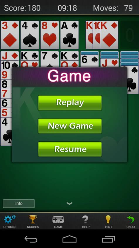 solitaire for android solitaire klondike solitaire for android