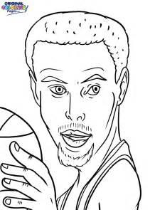 stephen curry coloring coloring pages original coloring pages
