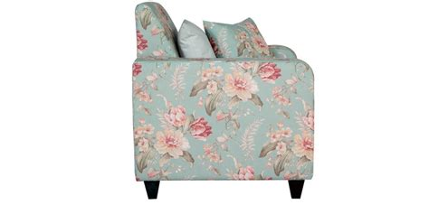 floral print sofas buy one seater sofa in grey floral print by