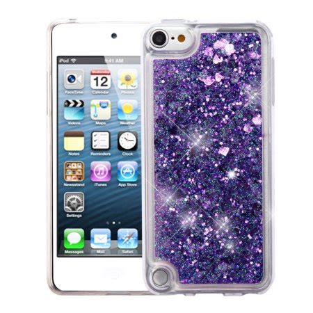 Iphone 7 Plus Water Glitter Softcase ipod touch 6th generation ipod touch 5th generation