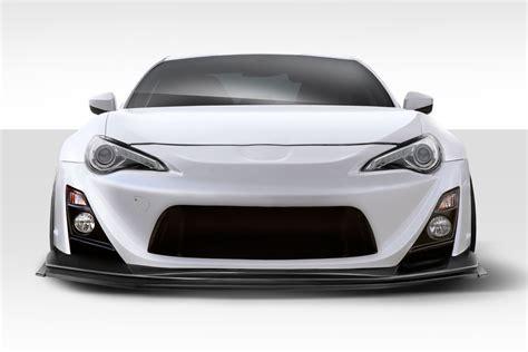 subaru brz front bumper 13 15 scion frs vr s duraflex front body kit bumper