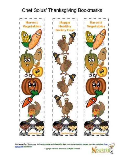 printable turkey bookmarks holidays 11 colorful thanksgiving fun bookmarks