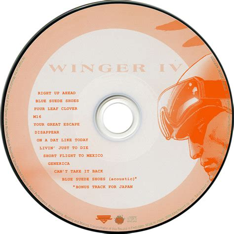 Cd Winger In The index of caratulas w winger