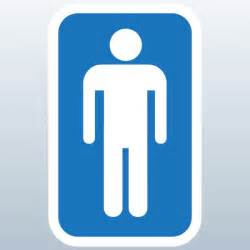 Mens Bathroom Sign Men S Restroom Sign 3d Model Made With 123d Unknown