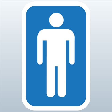 bathroom signs images male bathroom symbol clipart best