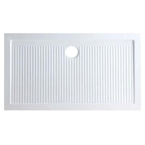 piatto doccia design piatto doccia 140x80 rettangolare azzurra ceramica ferdy