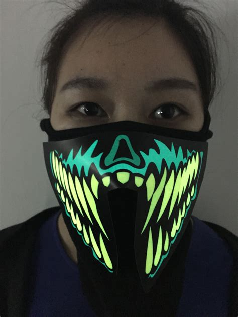 light mask be different customize el mask wholesale led mask for