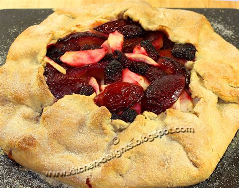 single crust plum and apple pie recipe dishmaps