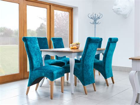 teal dining set teal dining chairs v4 dining chairs vig furniture modrest