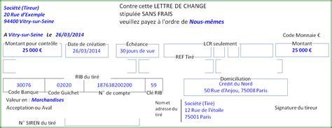 Pr Sentation Lettre De Change La Lettre De Change Relev 233 Fonctionnement Et Pr 233 Sentation Du Relev 233