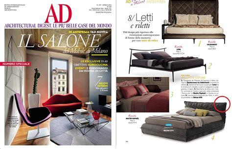 ad rivista di arredamento i nuovi letti di bolzan letti fotografati sulle riviste d