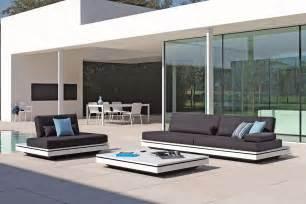 meuble salon contemporain design salon de jardin design contemporain en rotin meuble et