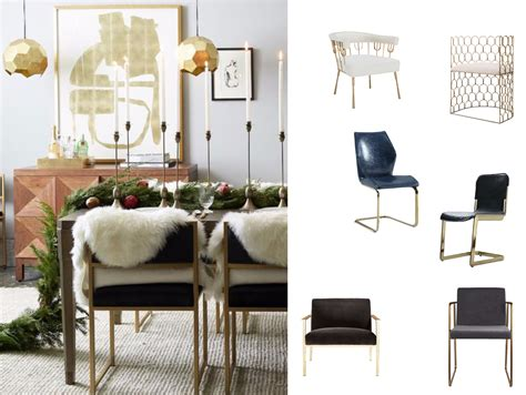 glam eclectic dining style decorist