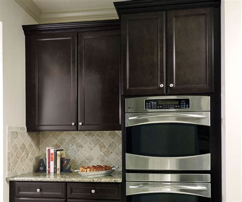 Sarsaparilla Color Cabinets by Wentworth Flat Panel Cabinet Doors Aristokraft