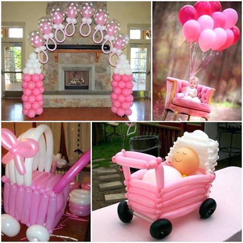 decoracion baby shower adornos para baby shower de nina ideas 6 decoraciones