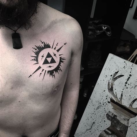 cool small chest tattoos chest best ideas gallery
