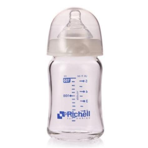Richell M For Wide Neck Bottle richell wide neck glass bottle α 150ml babyonline