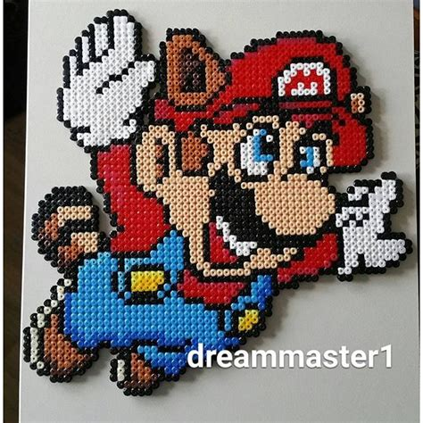 hama bead pixel mario bros 3 hama by dreammaster1 patterns