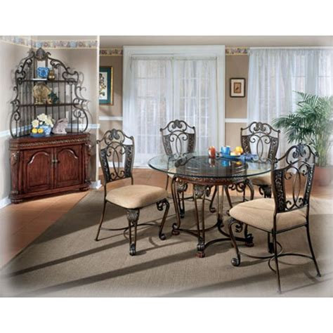 d396 15 furniture opulence ii dining room glass top