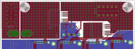 pcb layout engineer mosfet pcb layout for high side switch high current