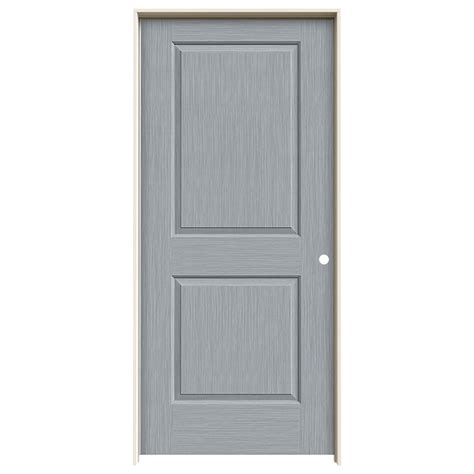 Prefinished Prehung Interior Doors Pacific Entries 36 In X 80 In Rustic Prefinished 2 Panel V Groove Solid Knotty Alder Wood