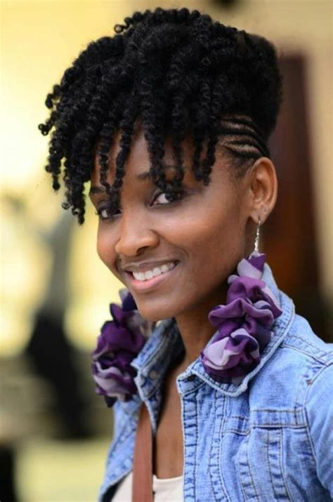 braided hairstyles for black women super cute black super rad wedding updo for edgy brides with curly natural