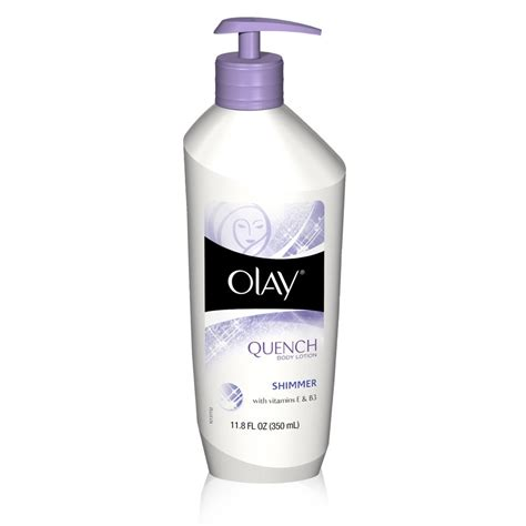Glitter Skin Anti olay quench lotion shimmer