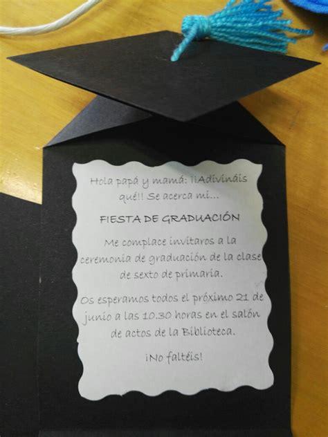 pergaminos para grado tarjetas invitaci 243 n graduaci 243 n clase pinterest