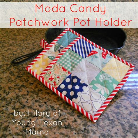 Patchwork Potholder Pattern - patchwork pot holder 171 moda bake shop
